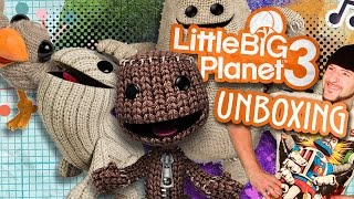 UNBOXING LITTLE BIG PLANET 3 (SONY PS3) por Juanito Say