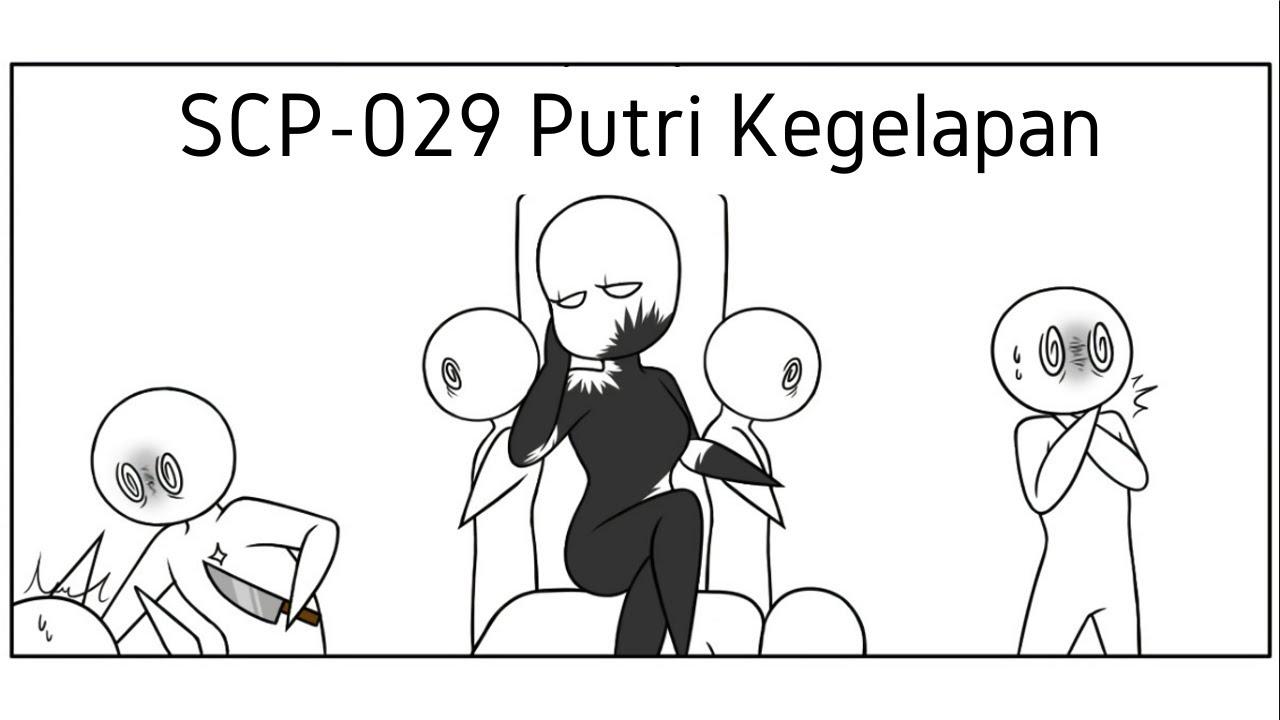 """Putri Ajaran Sesat - SCP-029 """"Daughter of Shadows"""" (Komik SCP Uncover)"""