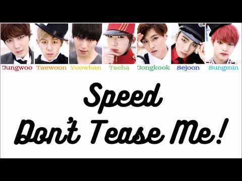 SPEED (스피드) - Don't Tease Me! (놀리러 간다)  [Han|Rom|Eng - Color Coded LYRICS]