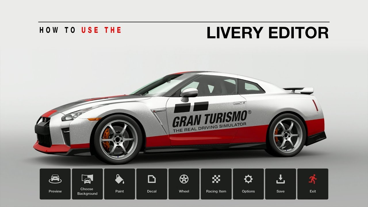 Inside Gran Turismo Sport Vol 2 How To Use The Livery