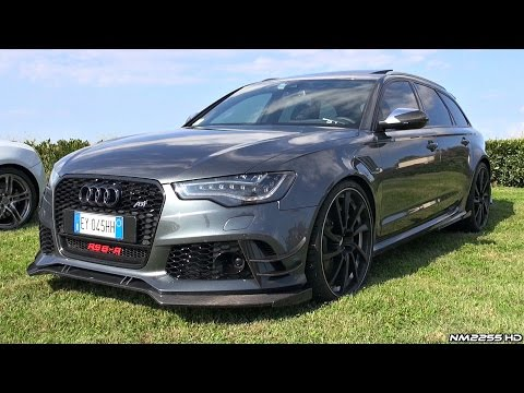 730HP Audi RS6-R ABT Exhaust Sound - Start Up, Revs & Quick Overview