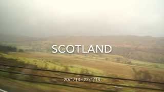 Journey to northern UK 2014