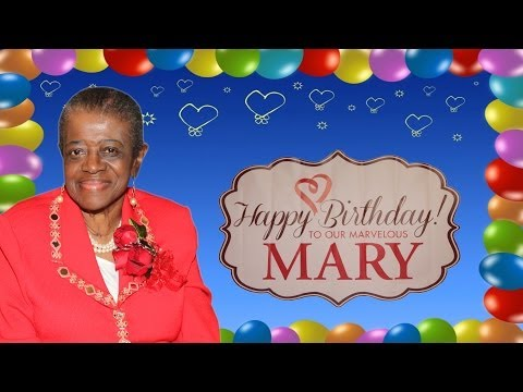 Mary N. Long's Birthday Party 2014!