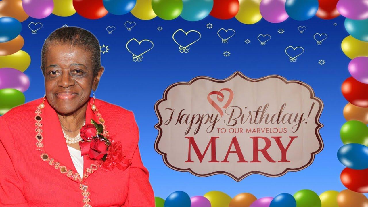 Mary N Longs Birthday Party