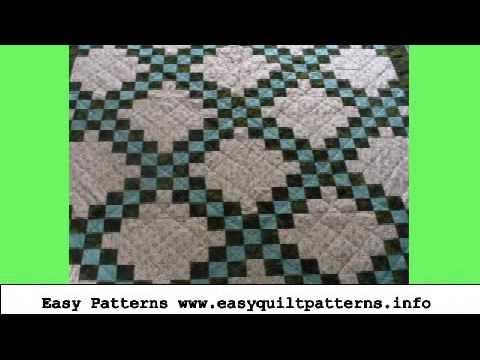 Free Quick Quilt Patterns Triple Irish Chain Quilt Free