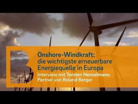 Onshore-Windkraft ist mittlerweile wettbewerbsfähig - Nachholbedarf bei Politik und Windparkbetreibern