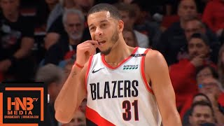 New Orleans Pelicans vs Portland Trail Blazers 1st Half Highlights | 11.01.2018, NBA Season