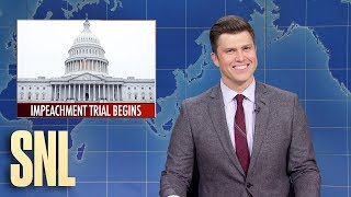 Weekend Update: Impeachment Trial Begins - SNL