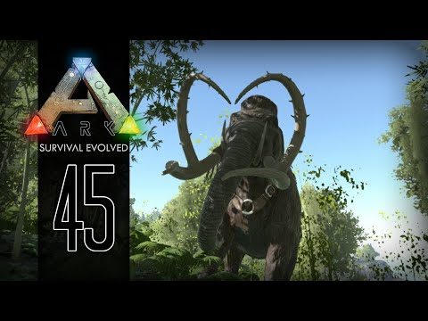 ark:-survival-evolved-gameplay- -45- -taming-a-mammoth!