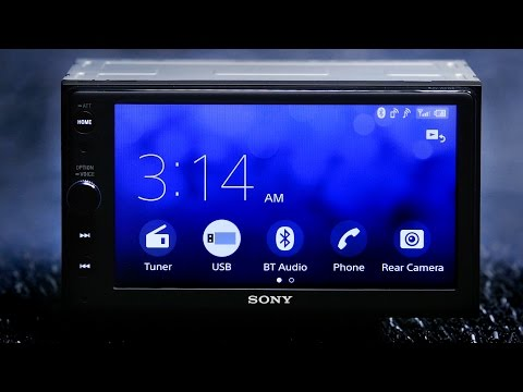 Sony XAVAX100 Car Stereo  Full Review  Bluetooth, Apple Carplay and Android Auto