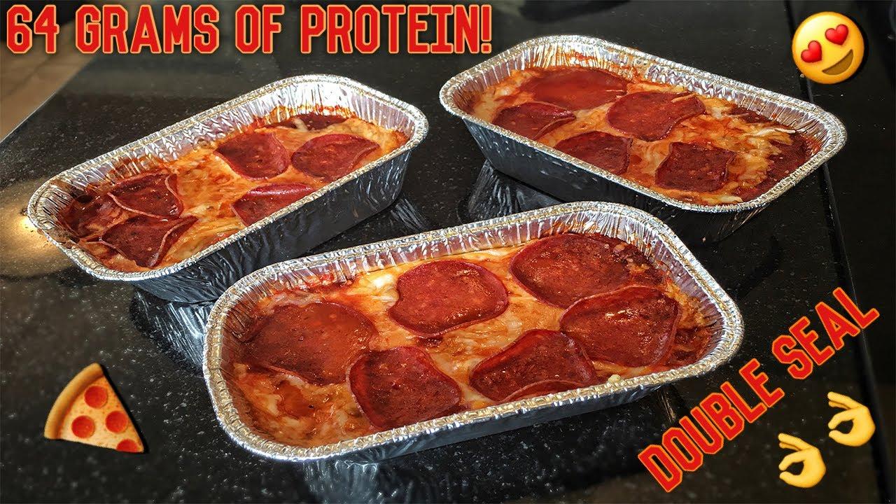 protein pizza recept