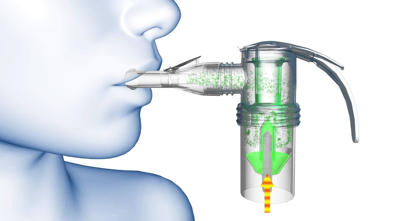 albuterol nebulizer machine