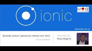 Curso Ionic em português - Aula 10 - Consumindo serviços externos