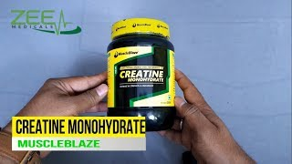 MuscleBlaze Creatine Monohydrate-Review-Uses-Side Effects-Precautions and Full Details