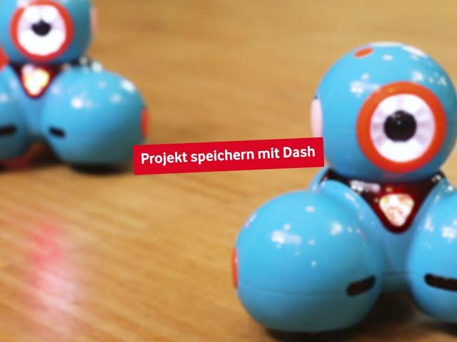 Dash - Programm speichern