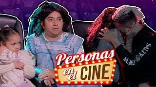 Tipos de personas en el cine | Mario Aguilar
