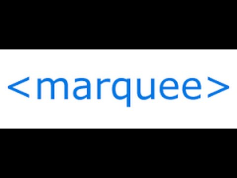 Html Marquee attributes directions, behavior bg-color