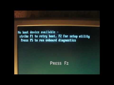 'No Boot Device Available' on Dell Optiplex GX520 and 760 | Doovi