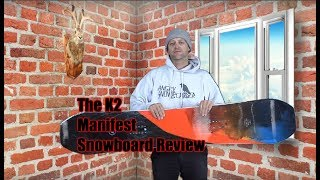 The K2 Manifest Snowboard Review