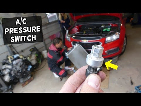 CHEVROLET CRUZE AC NOT WORKING NOT BLOWING COLD BAD AC PRESSURE SWITCH