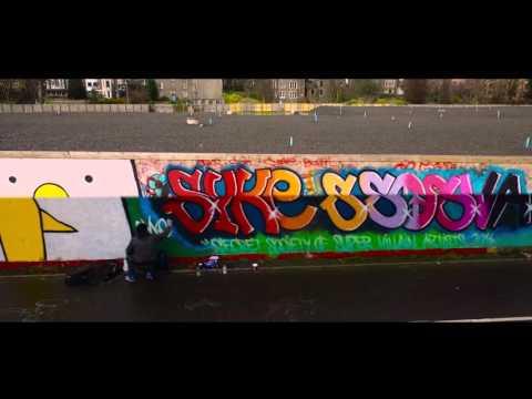 Street Art Montage – Dundee – Phantom 3 Pro