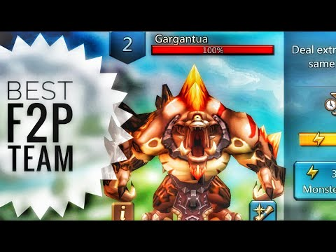 Lords Mobile - Best F2P Gargantua Monster Hunting Team