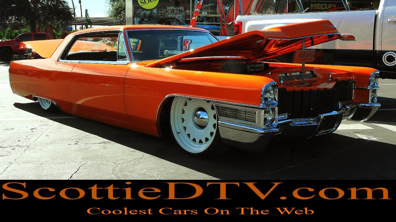 1965 Cadillac Coupe Deville Tequila Sunrise The Sema Show 2017