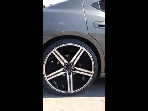 Dodge Charger On Irocs >> 2007 Dodge Charger w/ 24 inch irocs - YouTube