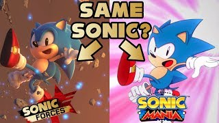 Is Sonic Mania a Prequel to Sonic Forces?
