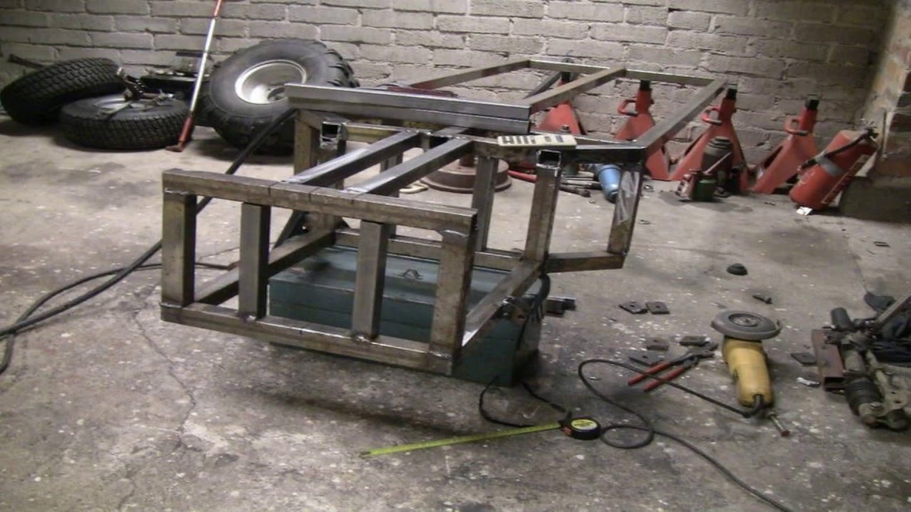 how to make a homemade buggy