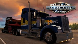 American Truck Simulator (Hard Economy) #42 - TRUCK STOP NO FUEL | Tuesday Week 9