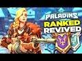 Paladins Ranked 2.0 Will Revive Ranked Paladins