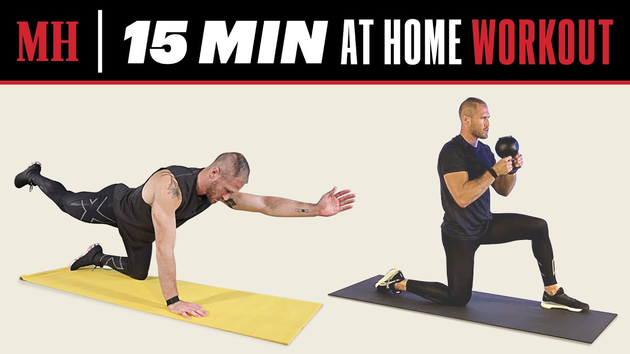 15 Min Full-Body Workout You Can Do From Home   Men's Health