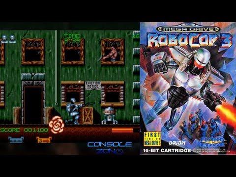 Robocop 3 (Sega Mega Drive) - прохождение игры