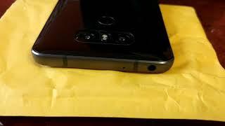 самостоятльная замена стекла камеры LG G6