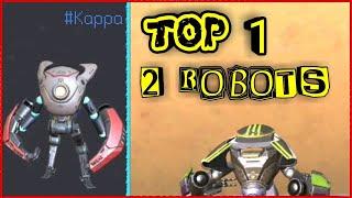 TOP 1 DOUBLE ROBOTS FIRETEAM !!! #KAPPA [Rules of Survival]