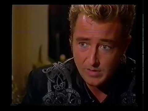 Michael Flatley appears on ITV's This Morning and on The South Bank Show October 26 1997 ITV1
