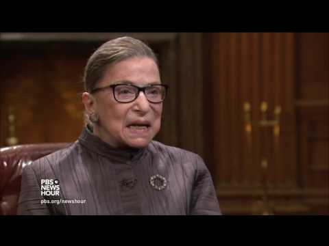 Ruth Bader Ginsburg on becoming 'Notorious'