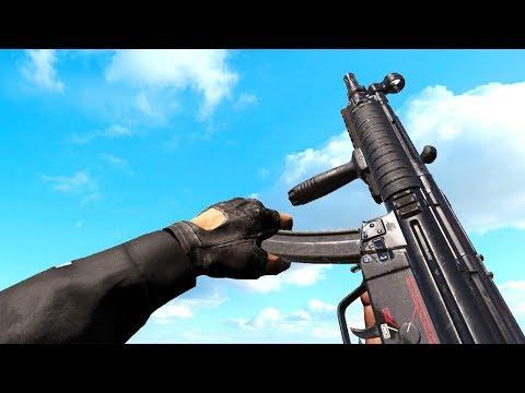 MP5 - Comparison in 40 Different Games