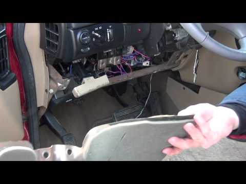 Remove Fuse Box Dodge Caravan