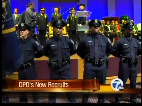New DPD recruits graduate