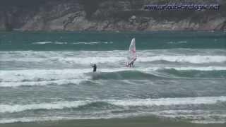 Kite und Windsurfen am Goulien