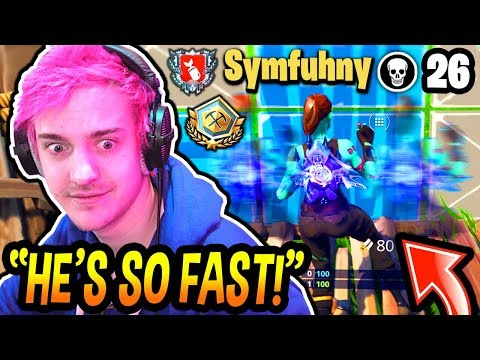NINJA DIES AND SPECTATES SYMFUHNY! *SHOCKED* (CRAZY FAST EDITING SPEEDS!) Fortnite EPIC Moments