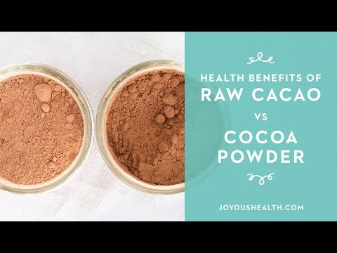 Health Benefits of Raw Cacao vs Cocoa Powder