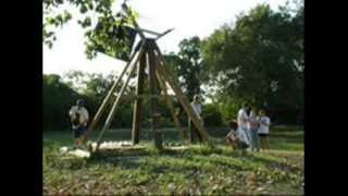 Trebuchet With 1000lbs Of Counter-weight 1