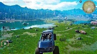 Final Fantasy 15 PC Gameplay Showcase (Final Fantasy XV PC)