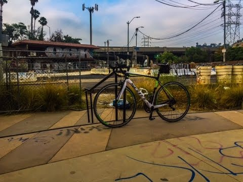 Cycling Los Angeles: To LA River Bike Path from Atwater