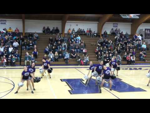"Mosinee High School Dance Team - ""Monsters"" 1-22-16"