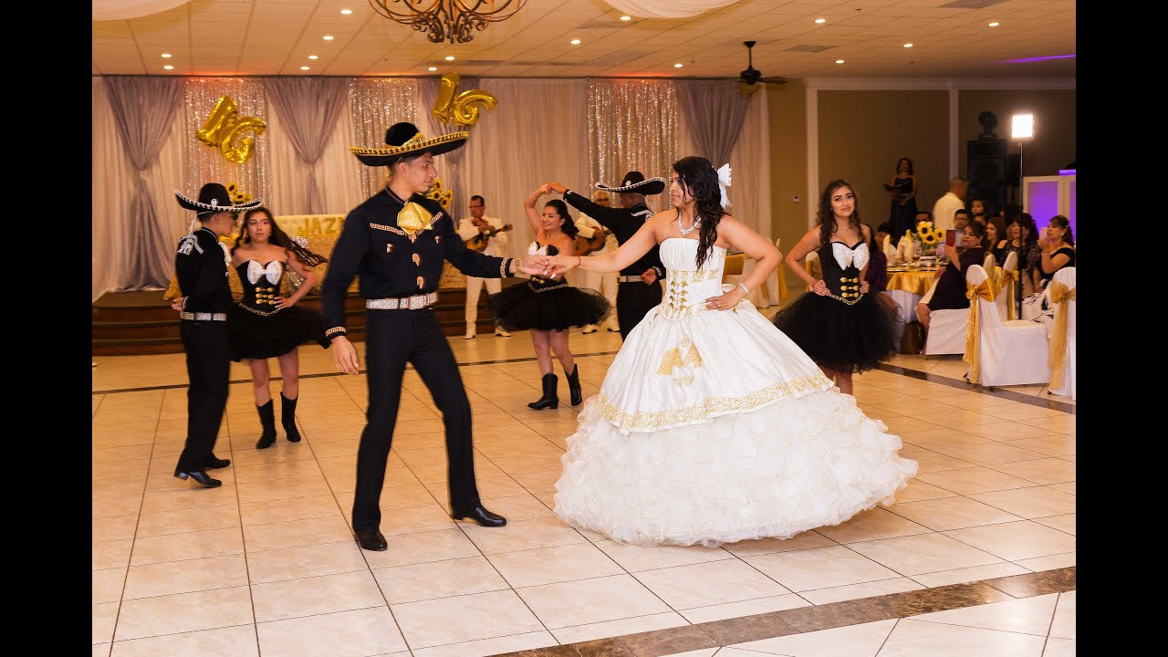 563c205867a Jazmin Quinceanera Charro Waltz by Chambelanes Company - YouTube