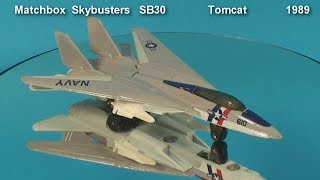 F-14 Tomcat  Matchbox  Skybusters   SB30   1989
